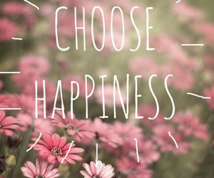 choose, flowers, and happy image