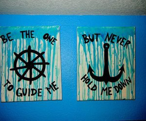 anchor, wheel, and prettty image