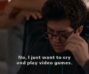 quote, cry, and nat wolff image