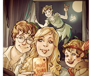 peterpan and foreveryoung image
