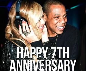 anniversary, beautiful, and couple image