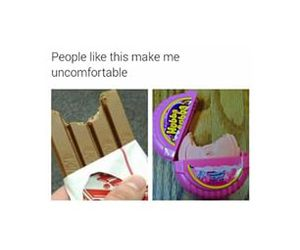 funny, lol, and gum image