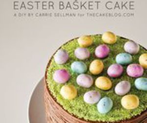bunny, cake, and easter image