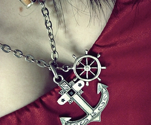 anchor, girl, and photograph image