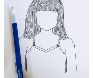chandelier, maddie ziegler, and drawing image