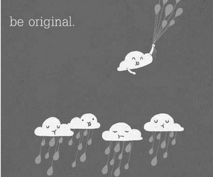 clouds, original, and rain image