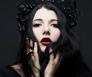 crown, gothic, and beauty image