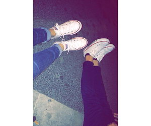 friends, bff, and converse image