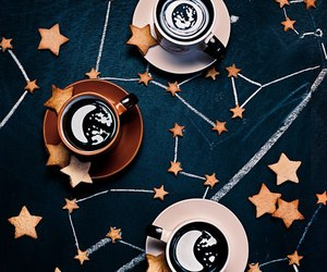 coffee, stars, and food image