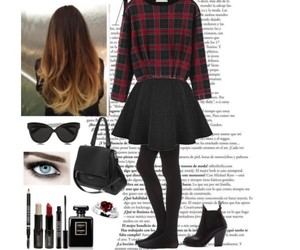 hair, makeup, and outfits image