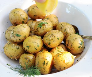 food and potato image