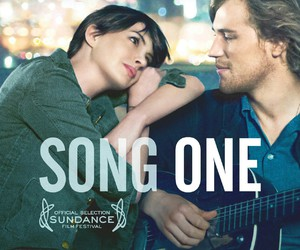 Anne Hathaway, johnny flynn, and movie image