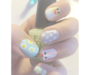 bunny, Chick, and daisies image
