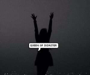 black, disaster, and girl image
