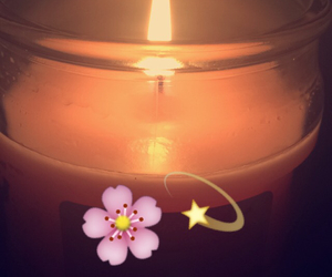candle, distraction, and pink image