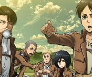 Erwin, aot, and levi image
