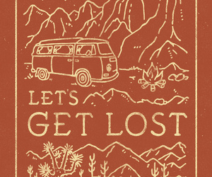 travel and lost image