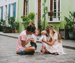 baby, best friends, and child image