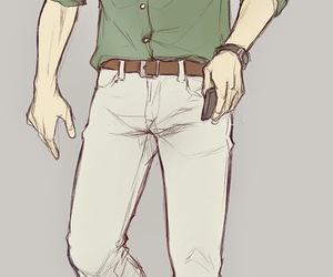 Erwin, shingeki no kyojin, and snk image
