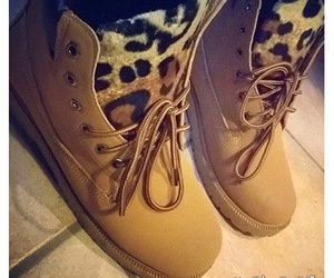 diy, leopard, and shoes image