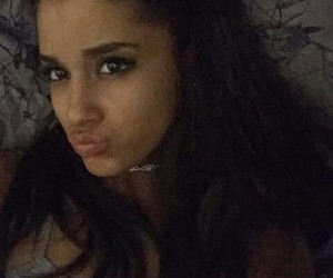new, arianagrande, and selfie image