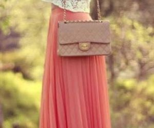 bag, chanel, and lace image