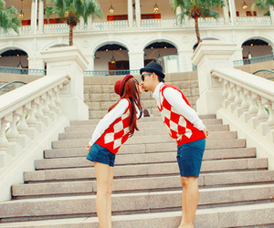 couples, fashion, and photography image