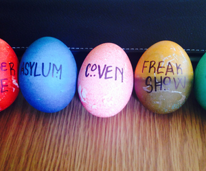 asylum, coven, and easter eggs image