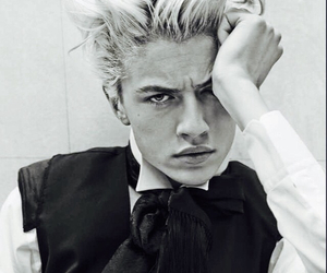lucky blue smith, model, and lucky image