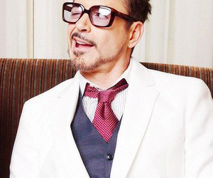 robert downey jr, iron man, and rdj image