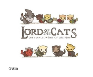 cat, cats, and emoticons image