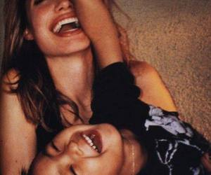 Angelina Jolie, happiness, and son image