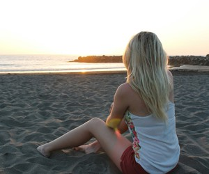 adventure, beach, and blonde image