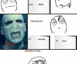 voldemort and harry potter image