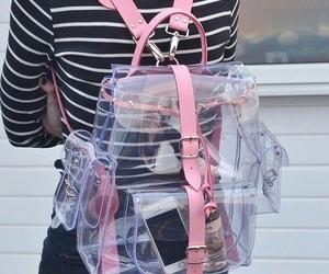 backpack, perfume, and cute image