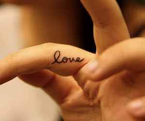 life, tattoo, and words image