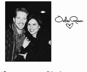 sean maguire, lana parrilla, and outlawqueen image