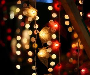 beautiful, christmas lights, and lights image