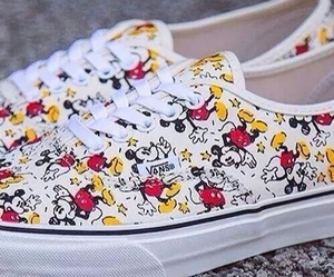 vans, shoes, and disney image