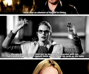 hook, ouat, and captain swan image