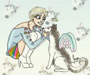 cyrus, floyd, and miley image