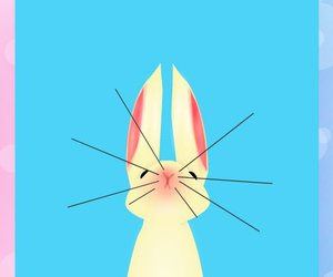 buny, design, and easter image