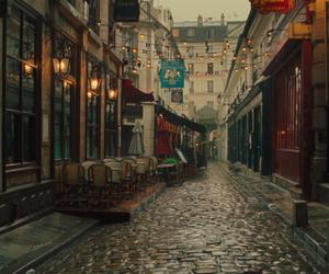 paris, france, and rain image