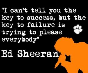 failure, tell, and ed sheeran image