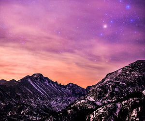 mountains and sky image
