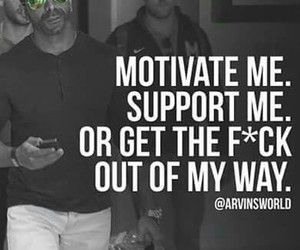 peolpe, fake friends, and motivate me image