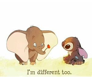stitch, different, and dumbo image