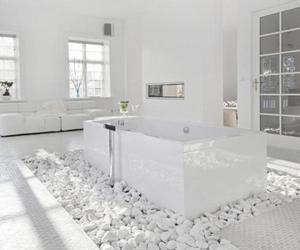 white, bathroom, and design image