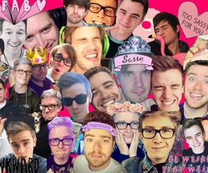 Collage, youtubers, and shane dawson image