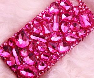 pink, iphone, and iphone case image